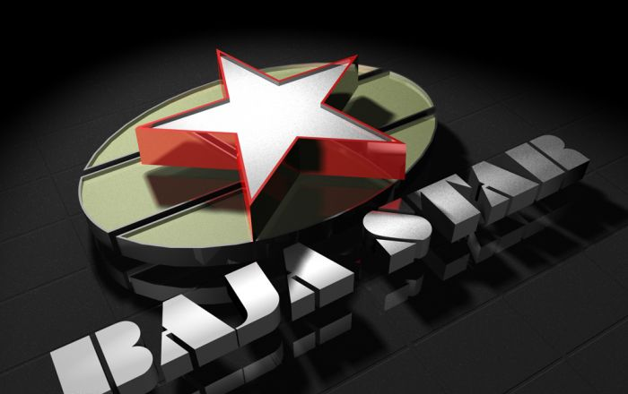 3d Logo Design For Baja Star Clothing Outlet.